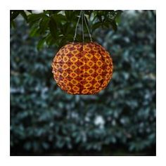 IKEA SOLVINDEN LED solar-powered pendant lamp Globe orange& 30 cm Helping you save energy and reduce your environmental impact because it is powered. Outdoor Party Lighting, String Lights Outdoor, Outdoor Lamps, Ikea Outdoor, Solar Led, Diy Solar, Ikea Design, Affordable Furniture, Home Decor Furniture