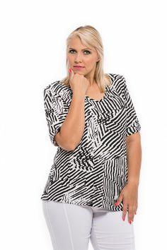 čiernobiela blúzka pre moletky Spring Summer, Women, Fashion, Moda, Fashion Styles, Fashion Illustrations, Woman