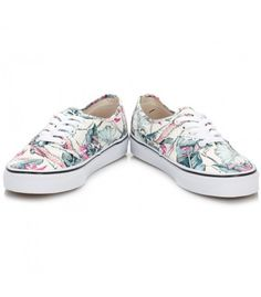 Zapatillas para mujer Vans U Authentic de perfil bajo icónico de la marca  Vans y estampado 82218eee21d