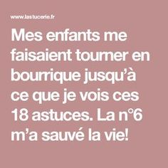 Mes enfants me faisaient tourner en bourrique jusqu'à ce que je vois ces 18 astuces. La n°6 m'a sauvé la vie! Education Positive, Baby Education, Kids And Parenting, Parenting Hacks, Web Design Awards, Positive Attitude, Baby Care, Kids Playing, Activities For Kids