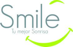 Este es un logo de un consultorio odontológico que utiliza una sonrisa.