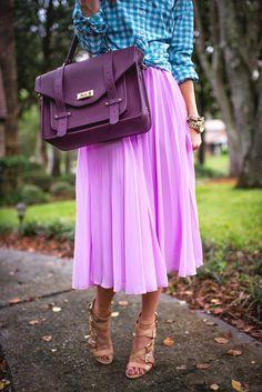 Daily New Fashion : PINK PLEATS