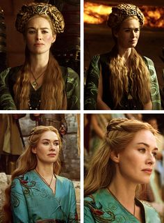 Cersei Lannister Braided Hairstyles