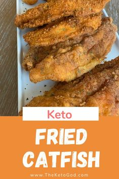 Here is the perfect Keto Fried Catfish Recipe. Instead of frying your catfish in white flour, this Keto Fried Catfish Recipe uses almond flour which makes it keto. You can eat this catfish as is or make a fish sandwich with your favorite keto buns. Seafood Recipes, Appetizer Recipes, Diet Recipes, Recipes Dinner, Smoothie Recipes, Snack Recipes, Healthy Recipes, Fried Catfish Recipes, Keto Buns