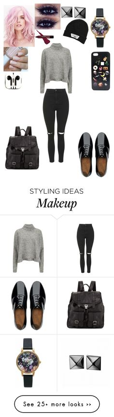 """."" by azealia-dlvii on Polyvore featuring Designers Remix, Topshop, FitFlop, Proenza Schouler, PhunkeeTree, Vans, Olivia Burton and Waterford"