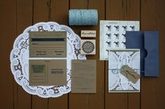 love doily idea and recycled looking paper