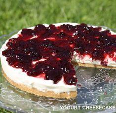 cheesecake yogurt senza forno frutti bosco