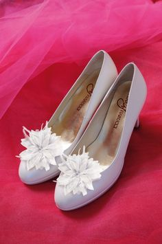 Xavira #schoenclip #trouwschoenen  #bruidsschoenen