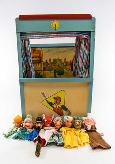 """DDR Museum – Museum: Objektdatenbank – """"Puppentheater"""" Copyright: DDR Museum, Be… Ddr Museum, Museum Berlin, Goodbye To Berlin, Remember The Time, East Germany, Antique Toys, Antique Decor, My Childhood Memories, Old Toys"""