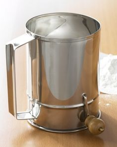 Traditional Flour Sifter | Williams-Sonoma #Bake #Flour #Sifter