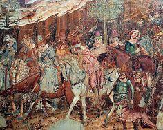 Toscana Pisa Campo Santo murals   #TuscanyAgriturismoGiratola