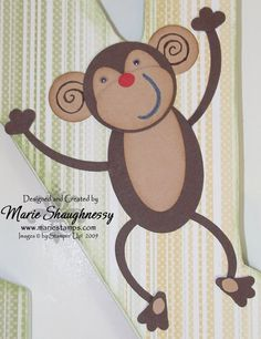 Stamping Inspiration: N IS FOR NAUGHTY MONKEY...