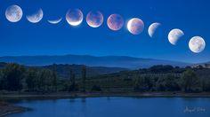 https://flic.kr/p/za587f | 20150928 Eclipse lunar | Tratando de ser fiel al evento real, las 11 tomas que forman esta composición han sido tomadas durante el eclipse lunar del lunes 28 de septiembre de 2015.