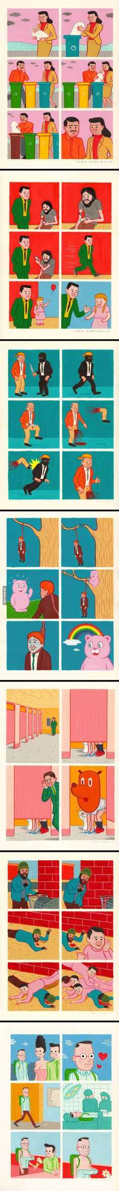 We haven't seen any Joan Cornella in a while Woodworking Guide, Custom Woodworking, Bad Memes, Funny Memes, Black Jokes, Troll Meme, Bride Of Chucky, Humor Grafico, Adult Humor