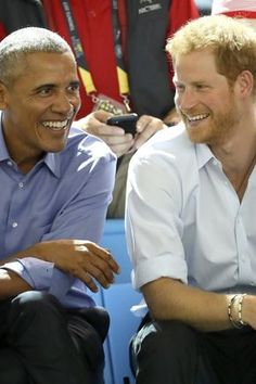 Barack Obama's Reaction to Pal Prince Harry's Engagement Is as Delightful as You'd Expect