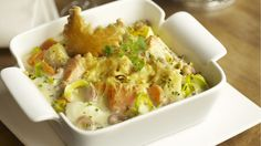 Vispannetje met zalm en kabeljauw in de oven - Libelle Lekker