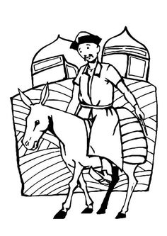 mongol book coloring pages - photo#21