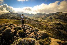 Parque Nacional de Itatiaia , onde os ventos batem no rosto