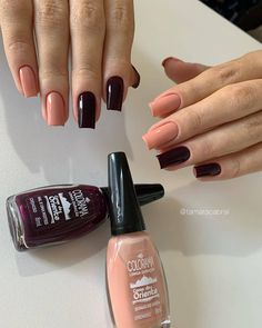 Simple and different, who else likes it? Colors of the Orient Clien . Gel Nails, Nail Polish, Stylish Nails, Nail Inspo, Nail Arts, Little Things, How To Do Nails, Summer Nails, You Nailed It