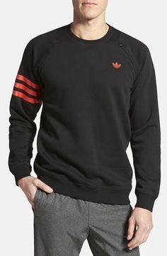 promo code 5d49f 892c9 adidas Originals  Sport Luxe  Crewneck Sweatshirt Teen Boy Fashion, Lazy  Fashion, Discount
