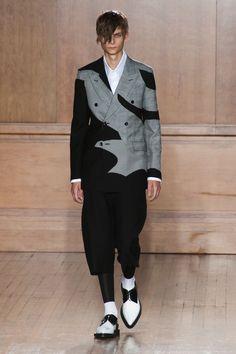 Alexander McQueen Menswear Spring 2015