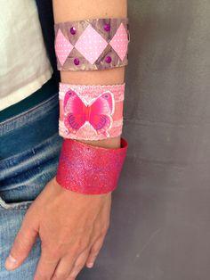 Bracelets toilet paper rolls