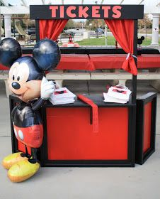 Party Designs By MaddyLus: Mickey Mouse Carnival Themed Party
