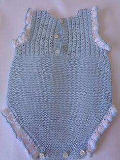 Diy Crafts - DIY & crafts projects, contents and more - Diy Crafts Weave Ranita Ochitos Azul Handmade Amano 347269821258071791 P Diy Romper, Newborn Crochet Patterns, Knitted Baby Clothes, Baby Sweaters, Baby Outfits, Baby Wearing, Baby Dress, Doll Clothes, Barn