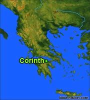 Map of Ancient Corinth and Bible history info Corinth Greece, Understanding The Bible, Study Tips, Ancient History, Stuff To Do, Map, Closer, Truths, Location Map