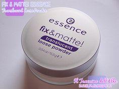 Fix & Matte! Translucent Loose Powder @Essence Torres cosmetics