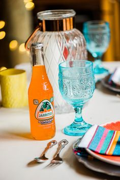 Today's color – filled modern fiesta is a great mix of rustic country, enchanted forest and modern fun. Liz Cowie Photography joined forces with stylist sassy a Orange Wedding Colors, Bright, Colorful, Tableware, Modern, Photography, Fiestas, Dinnerware, Trendy Tree