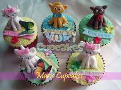 Aristocats Cupcakes