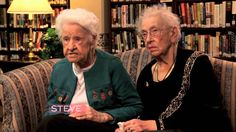 100-year-old best friends share their thoughts on popular culture. These ladies epitomize #GalentinesDay!*  Be sure to RSVP for Amy Poehler's Smart Girls #GalentinesDay Google + Hangout! It's this Thursday at 2pm EST.   Thanks to the Steve Harvey TV for sharing! #SpreadtheLove  *This video has some language that is only appropriate for Smart Girls 14 and up!