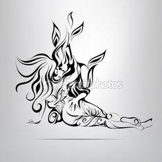 Elementos de la naturaleza y fuego. — Stock Illustration #67898903