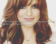 Mariska Hargitay...I knew I liked her for a reason!!! Amazing quote! <3