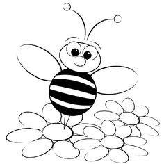 free printable bumble bee coloring pages for kids how to draw