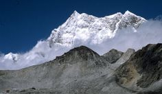 Gangkhar Puensum (7570m) ,Bhutan Highest unclimbed mountain in the world.Bhutan banned climbing on mountains higher than 6000m out of respect for local beliefs