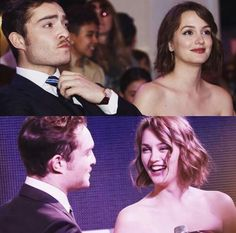 Ed Westwick and Leighton Meerster Gossip Girls, Mode Gossip Girl, Gossip Girl Chuck, Estilo Gossip Girl, Gossip Girl Quotes, Gossip Girl Fashion, Im Chuck Bass, Beaux Couples, Ed Westwick