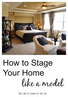 How to stage your home like a model - 11 quick tips to make your home a little more inviting. | www.weliketolearnaswego.com