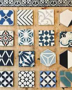 """216 Likes, 2 Comments - Clay Imports Austin (@clayimports) on Instagram: """"Just a small selection of our ✨in stock✨ cement tile collection. These beauties can be picked up in…"""""""