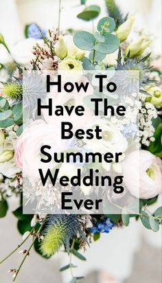 Seriously, I am so obsessed with each of these ideas, I almost want to go and get married all over again! Like, tomorrow. #wedding #weddingideas #weddinginspiration #summerweddings
