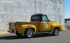 PITTSBURGH STEELERS~Steelers Old Truck