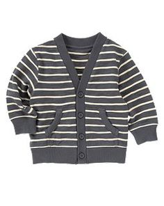 striped cardigan. Kids style. #Kids #Child #Clothes
