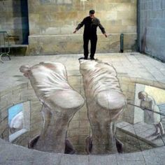Street art #creative #street #floor #flooring #original #amazing #nice #like #love #follow #finsahome #wonderfull #beautiful #strange #cool #opticalillusion #hole #incredible #extraordinary #deep #art #drawing #illusion #fake #delusion #false #graphicart #work #road #artstreet #funny #3D #chalk #feet