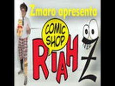 Zmaro apresenta a loja de quadrinhos RIAH Comic Shop...