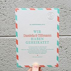 Elopements will always have my heart. These two are meeting up in NYC today to seal the deal and it will be a surprise to all their friends and family once they recieve these announcements! Alles alles gute zur Hochzeit!!!! #weddinginvitations #letterpress #elopement #hochzeit #hochzeitseinladung #entführung #Durchbrennen