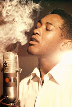 I would Love a print of this...my fav Sam Cooke picture