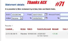 This is my ANOTHER Withdrawal Proof from Ad Click Xpress. I get paid daily and I withdraw daily. Online income is possible with ACX, who is definitely paying - no scam here. This program can be a life-changer for so many people. Good things happens every day with Ad Click Xpress, system is so incredibly powerful. If you are a PASSIVE INCOME SEEKER, then Ad Click Xpress is the best ONLINE OPPORTUNITY for you. http://www.adclickxpress.com/?r=nina64&p=mx