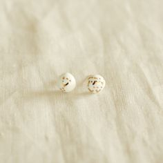 Kimiko Suzuki Porcelain Tablet Earrings #28 | UGUiSU Online Store