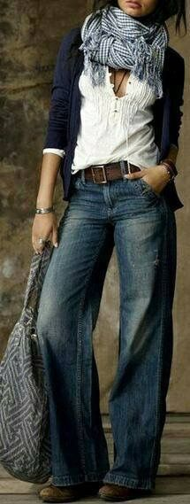 23 new Ideas for moda casual femenina botas Mode Outfits, Fall Outfits, Casual Outfits, Casual Jeans, Jeans Style, Tomboy Jeans, Denim Outfits, Skirt Outfits, Looks Cool